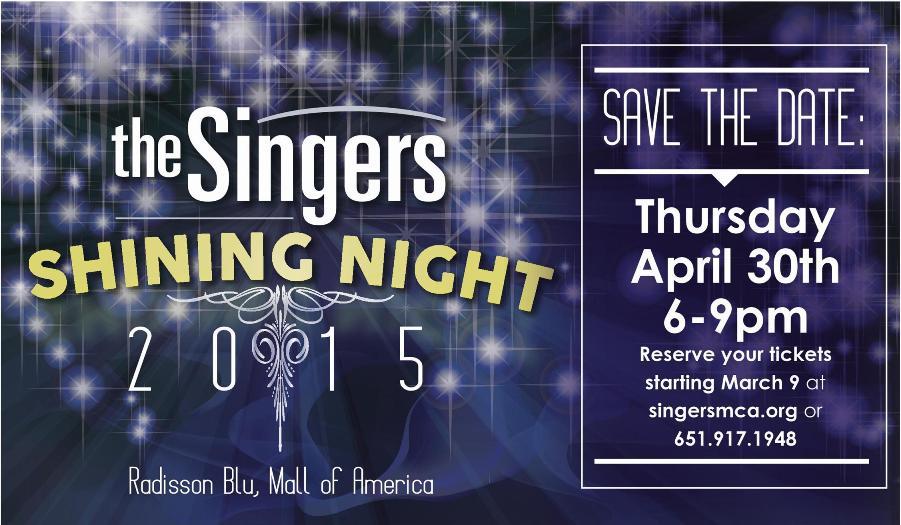 The Singers Shining Night 2015